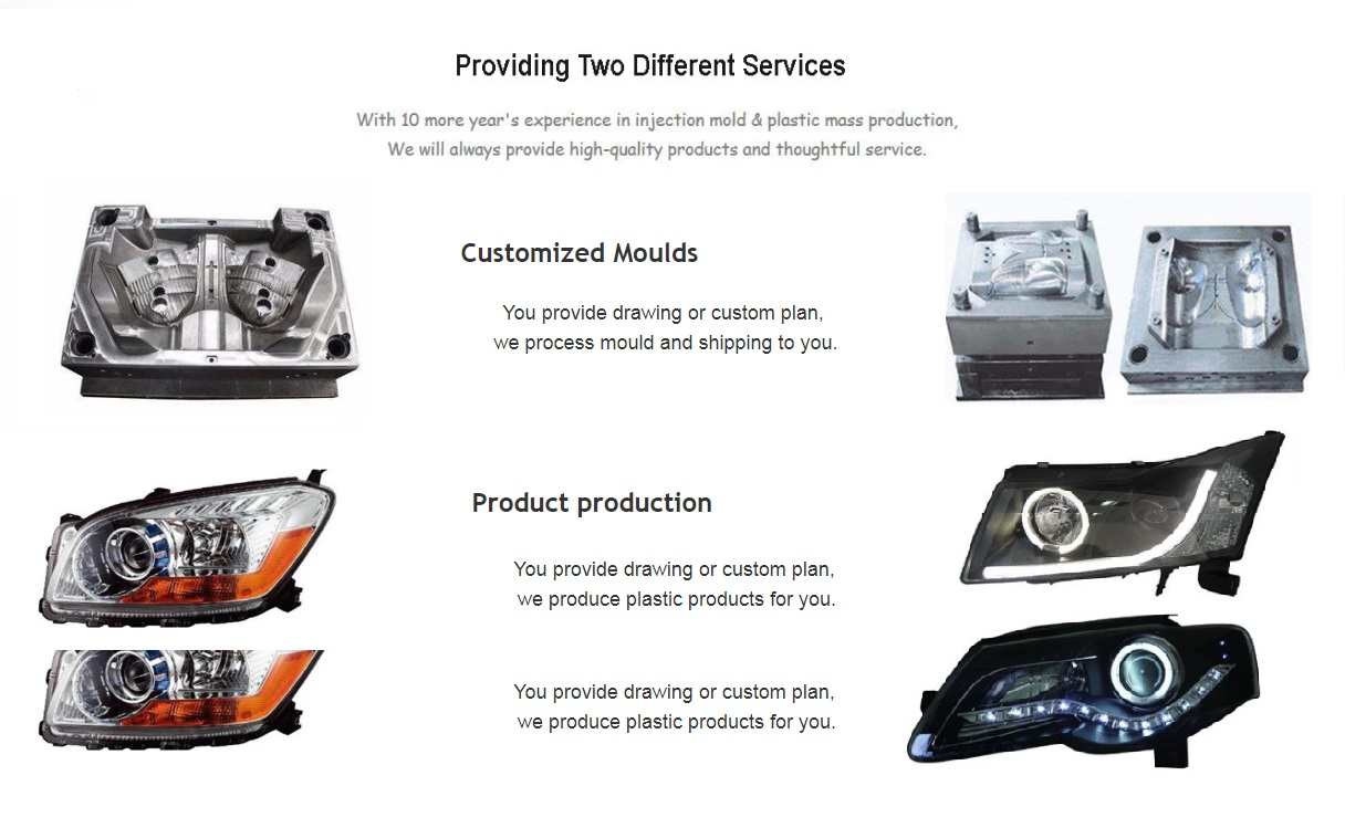 customized moulds and production